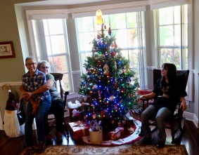 Pre-Christmas birthday party at Aunt Sharon's.